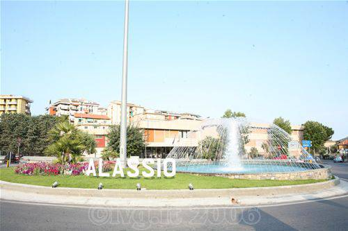 Alassio - Fontana benvenuto