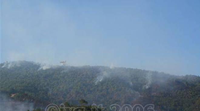 Incendio spotorno 10 settembre