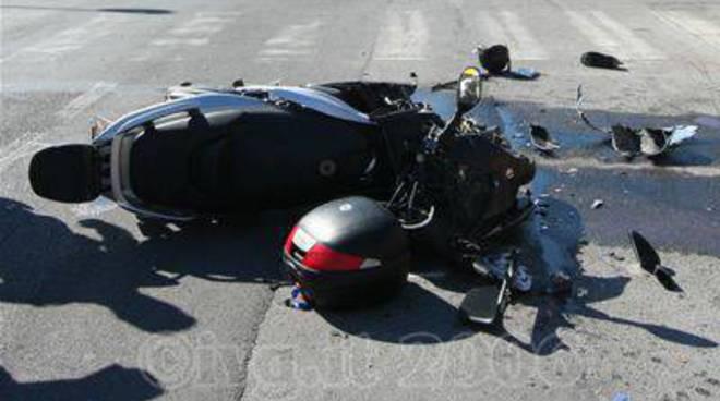 Albenga - incidente moto