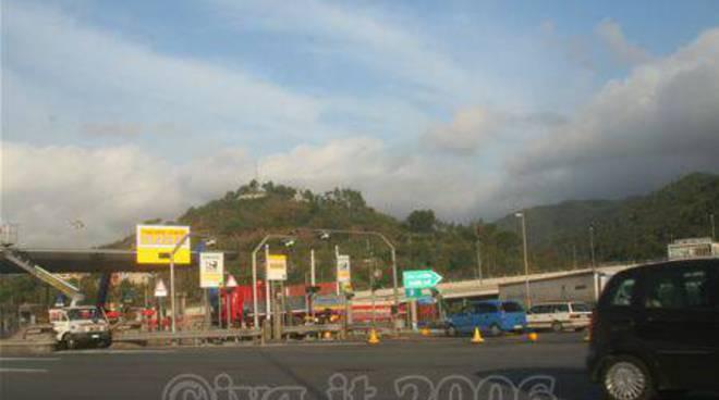 Casello autostrada savona