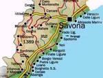 Cartina Savona