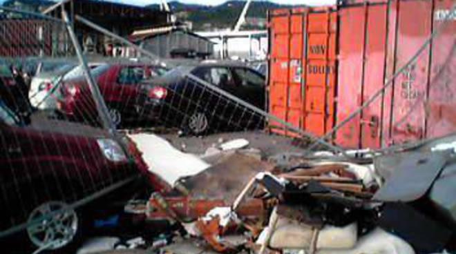 Danni maltempo porto Savona