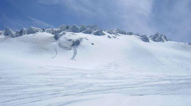 Neve montagna