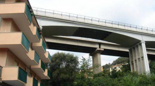 Viadotto autostrada Varazze Rio Cucco