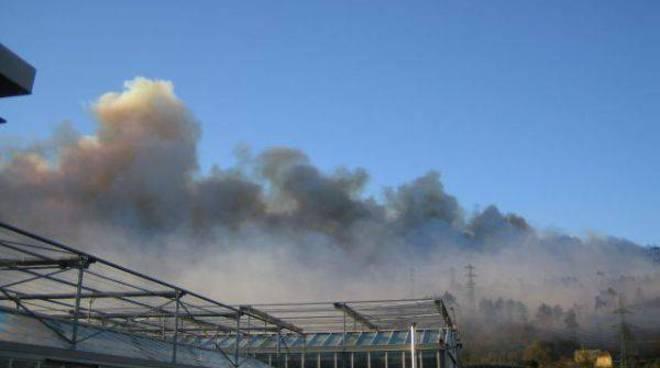 Incendio Quiliano 2 gennaio 07