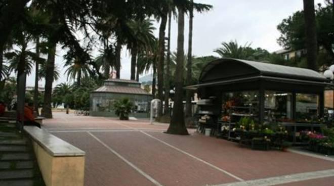 Albenga - giardini piazza del popolo