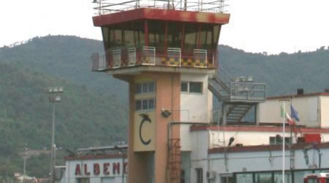 Villanova, aeroporto torre di controllo