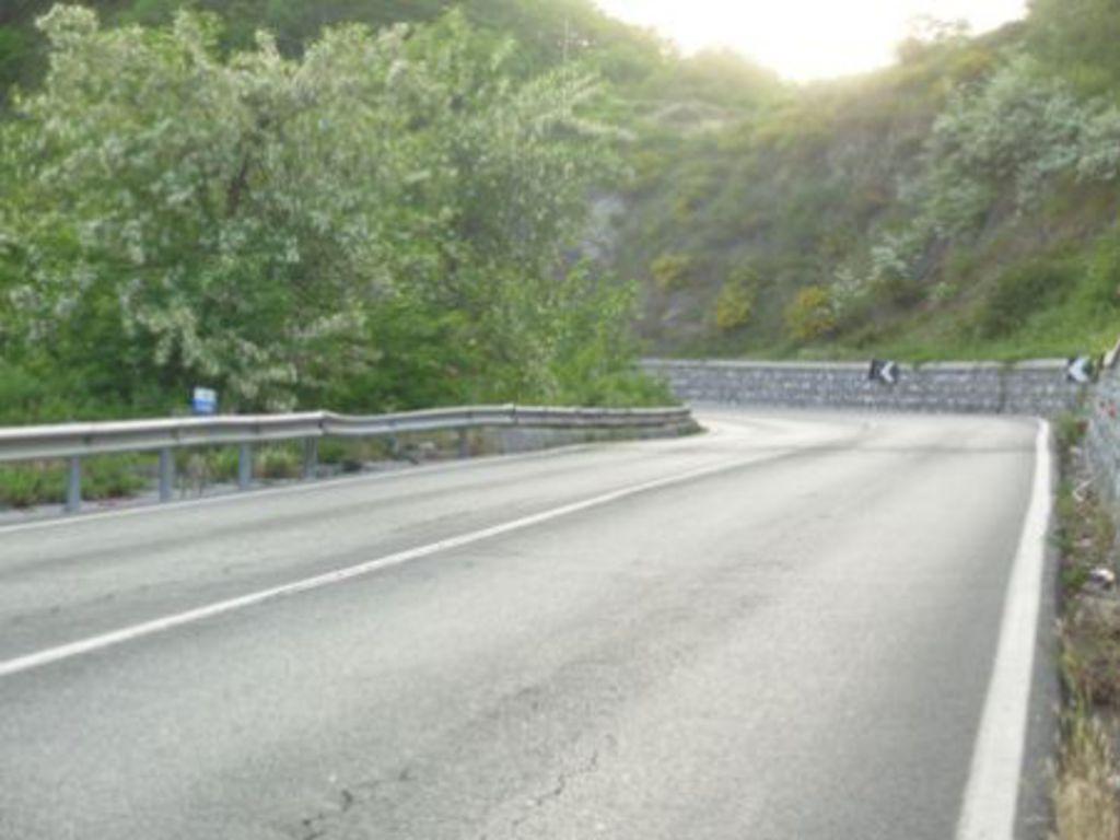 Provinciale 29 del Colle di Cadibona - km 142+100