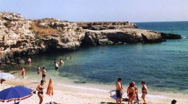 Spiaggia bagnanti