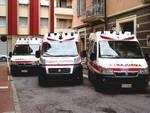 Tre ambulanza Croce Rossa Vado