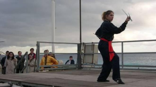 Aurora Bagnasco, Kung Fu, Finale Ligure