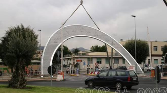 Pietra Ligure - ingresso santa corona