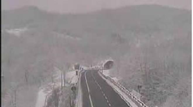 Altare - neve autostrada