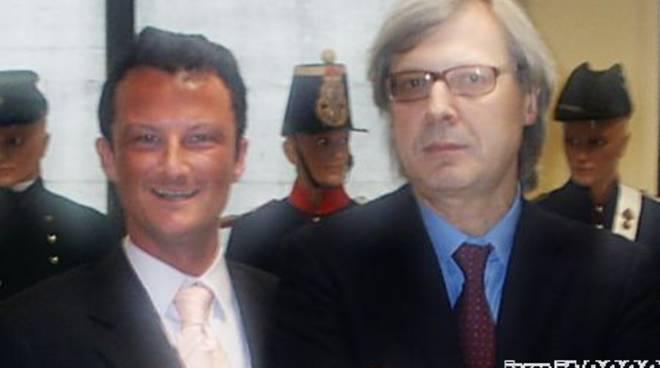 Giacomo Schivo e Vittorio Sgarbi