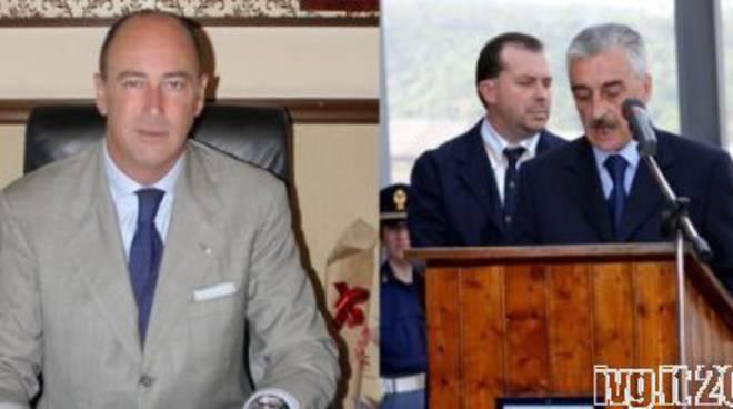 Marco Melgrati (Alassio) e Domenico Cassiano (Villanova)