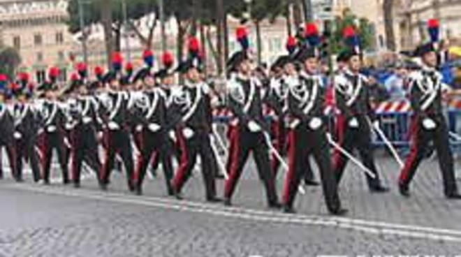 Parata dei carabinieri