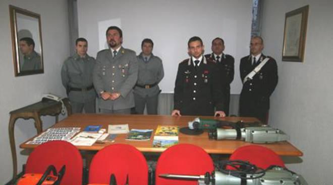 Savona - denunce materiale edile