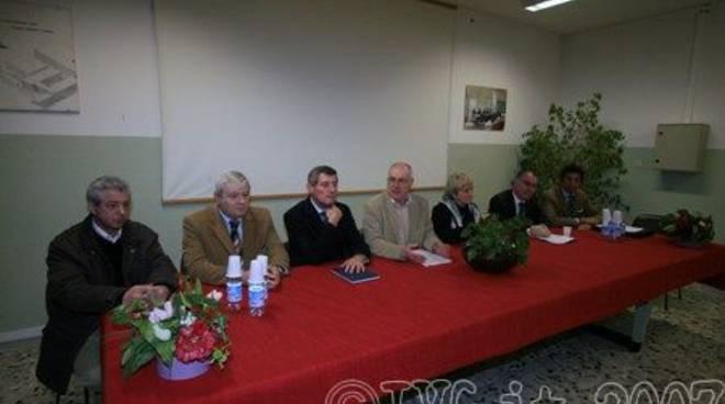 Savona - itis - Conferenza stampa presidi , Uisv e provveditore