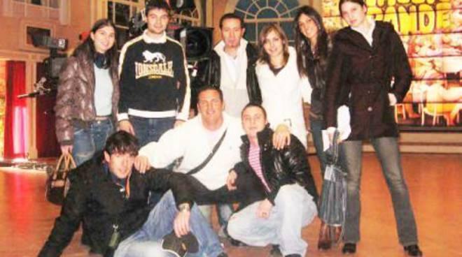 """Squadra di Albissola a """"Mezzogiorno in famiglia"""""""