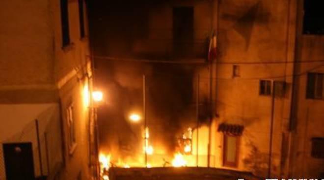 Incendio Pietra Ligure