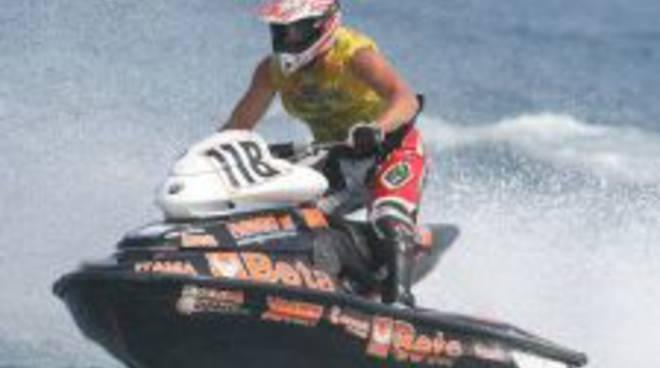 Fabio Incorvaia, moto d'acqua