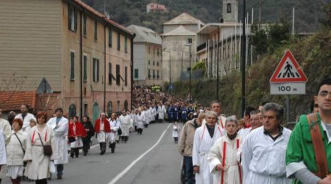Processione al Santuario del 18 marzo