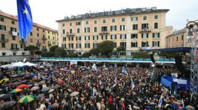 Berlusconi a Savona, aprile 2008