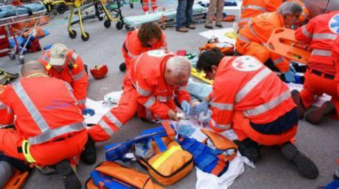 Scenario intervento multiplo, triage, incidente