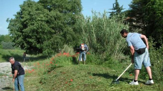 Garlenda, giornata ecologica: 30 volontari per la pulizia del territorio