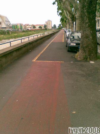 Savona, pista ciclabile di corso Ricci