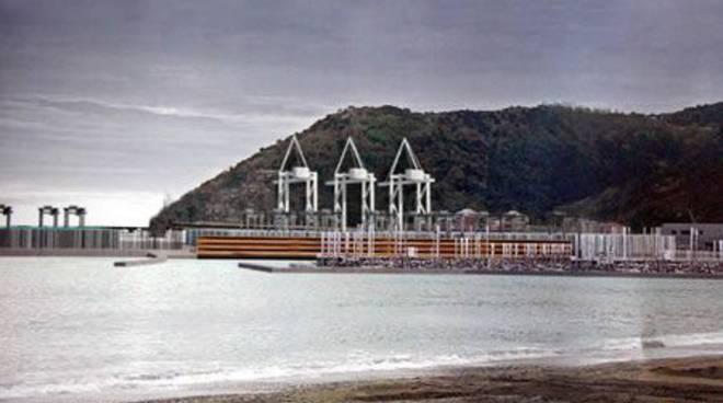 Vado ligure - Piattaforma Maersk