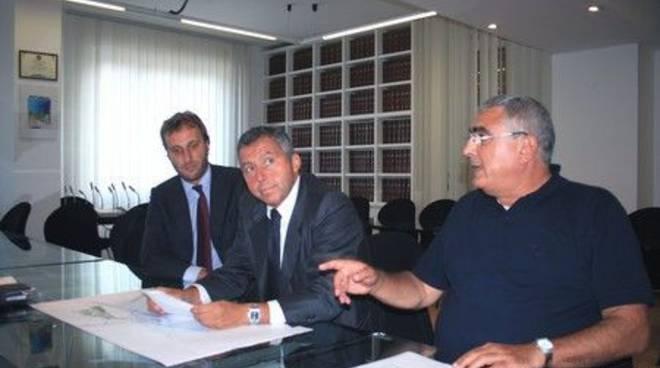 Autorità Portuale - da dx Canavese, Orsero e Pacorini