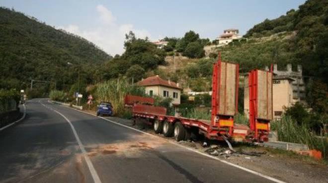 Giustenice - incidente mortale settembre 08