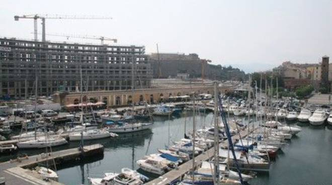 Savona - darsena costruzione