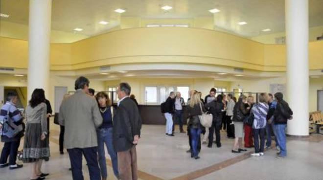Albenga - ingresso ospedale