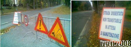 Ferrania: sei contro uno per un tratto stradale malandato