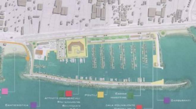 Porto di Albenga: progetto Guerrini