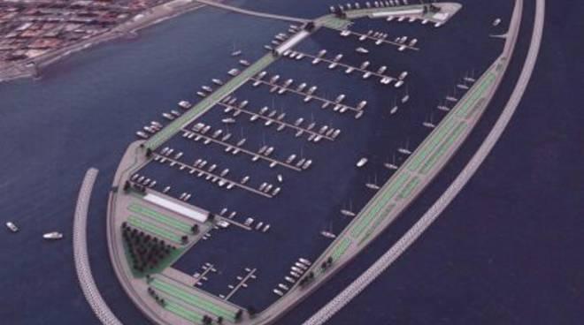 Progetti per il nuovo porto di Albenga: l'atollo di Vittorio Tarizzo