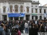 Savona - manifestazione scuola 30 ottobre