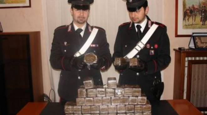 Traffico di hashish tra Italia e Spagna: dieci arresti