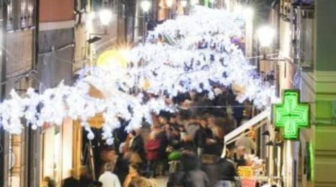 Illuminazione Natale, Loano 2008