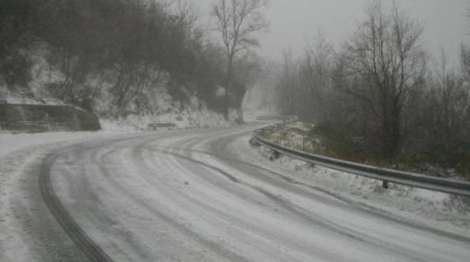 Neve nel Finalese