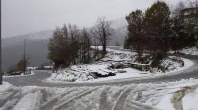 Magliolo - nevicata 10 dicembre