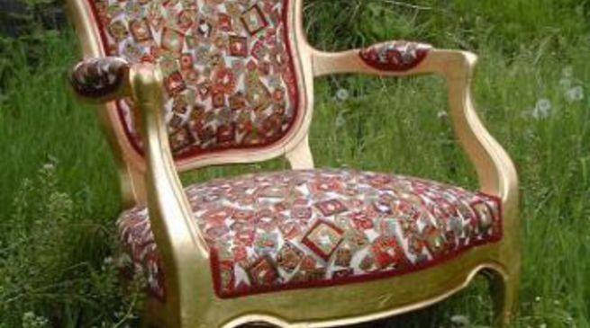 Come tappezzare una sedia casamia idea di immagine - Tappezzare una sedia ...