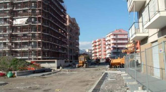 Cantiere sequestrato via Carloforte, Albenga