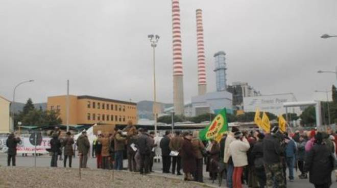 Manifestazione Tirreno Power