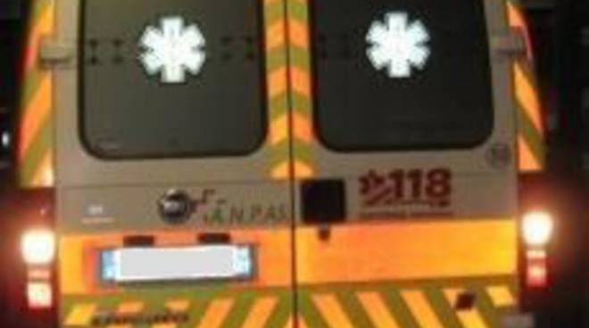 Ambulanza Croce Bianca (notte)