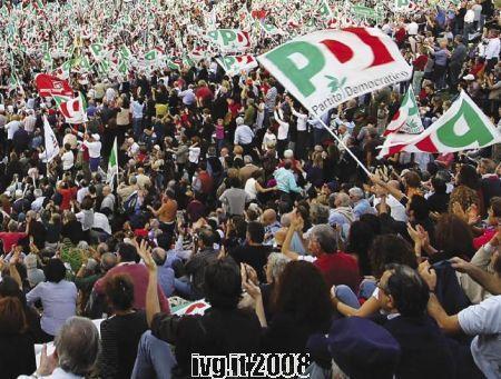 Partito Democratico - Manifestazione Pd