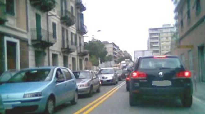 Traffico a Savona