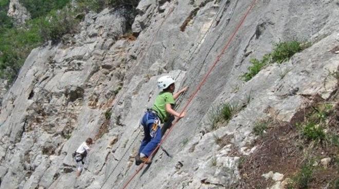Climbing, scalatore
